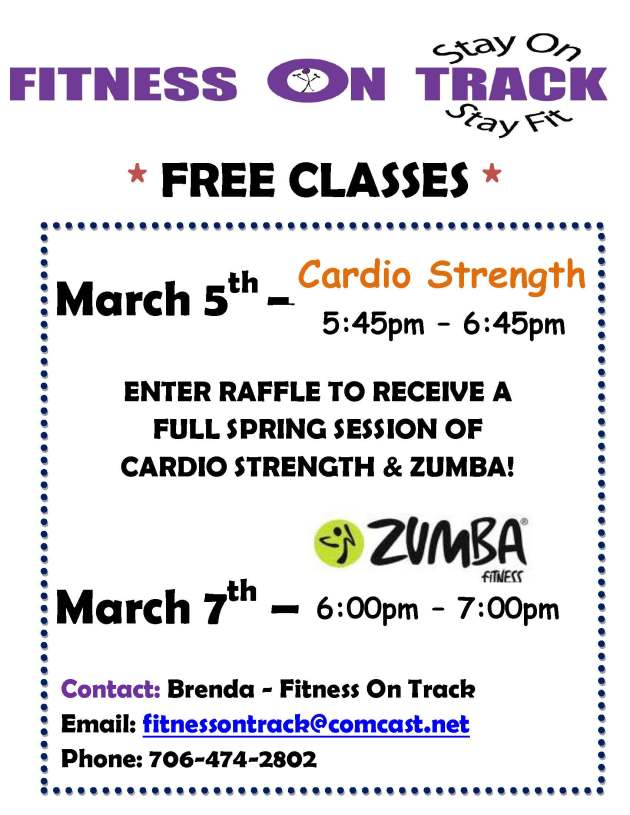 Promo Class for April 2013 Program