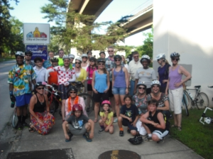 30 cyclists joined us in June!