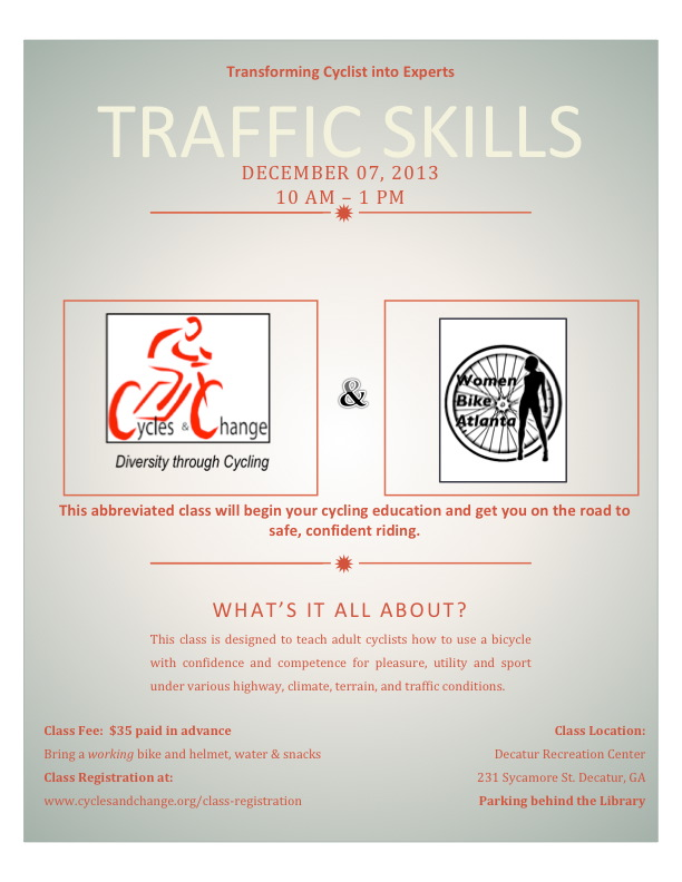 Traffic Skills 101 3 hour version Flyer 2013 C&C_WBA_NDL