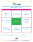 Keenagers picnic bingo