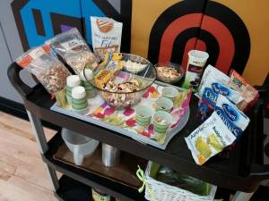Trailmix cart