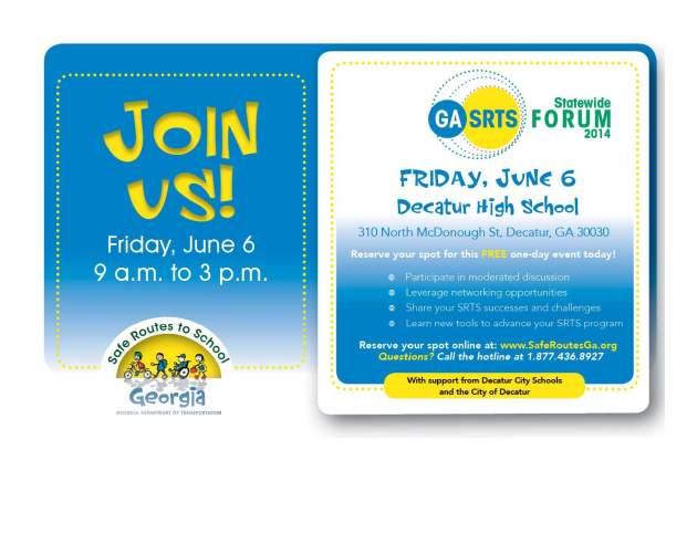 srts forum flyer
