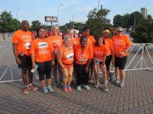 Team Decatur Members at the 2013 KP Run/Walk