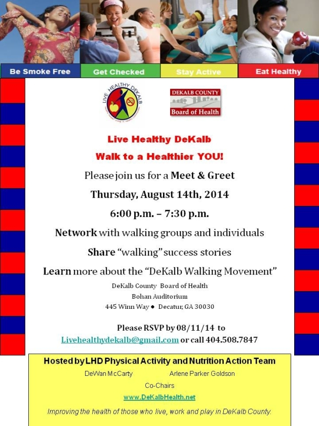LHD Walking Meet and Greet Invite 08 14 14  ACA