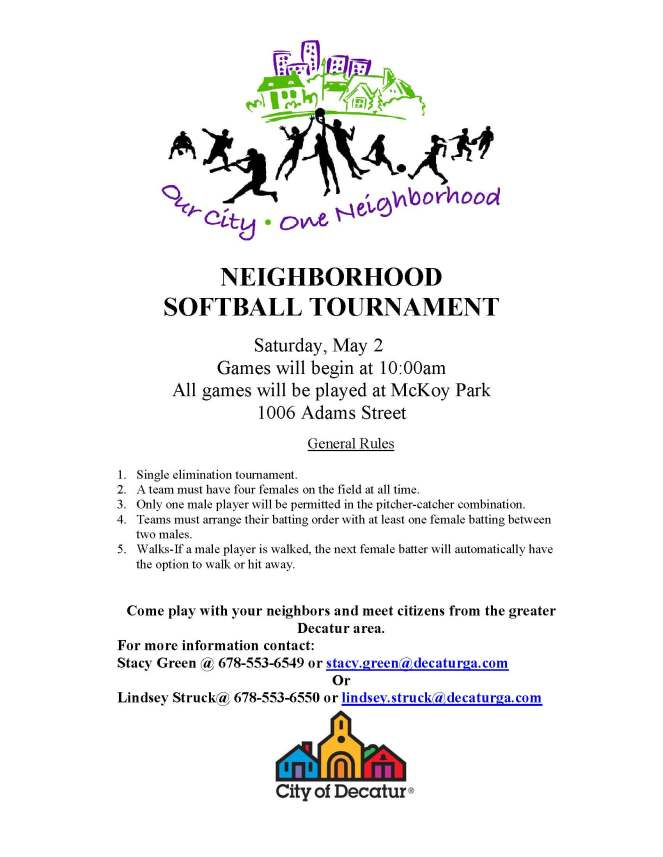 2015 DECATUR NEIGHBORHOOD TOURNAMENT