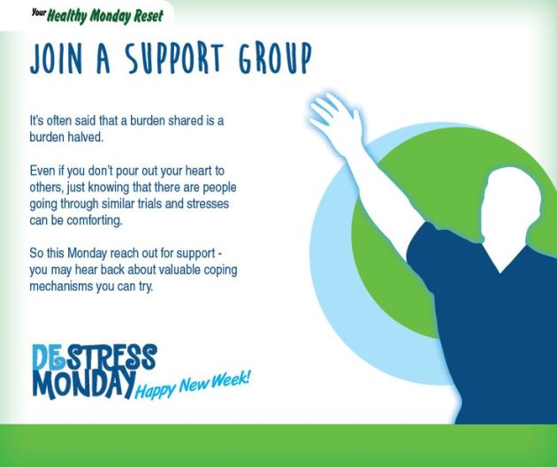 join a support group