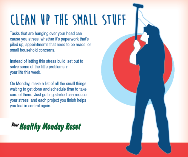 Clean up small stuff