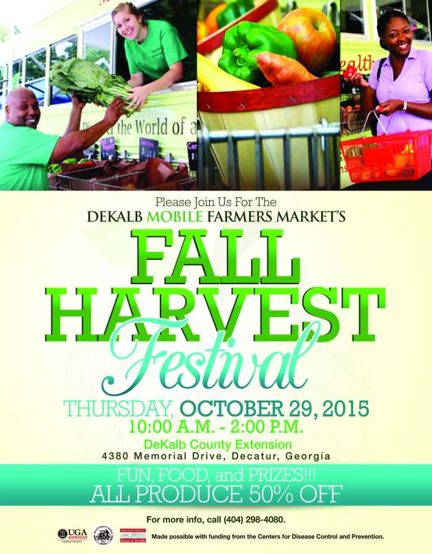 Fall Harvest Festival Flyer