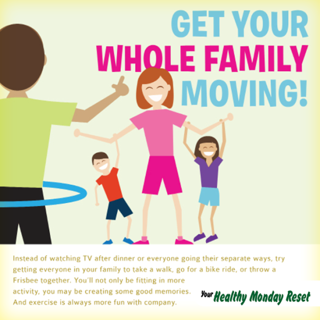 get family moving