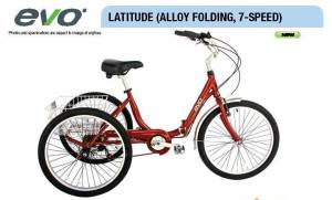 EVO trike 7speed image