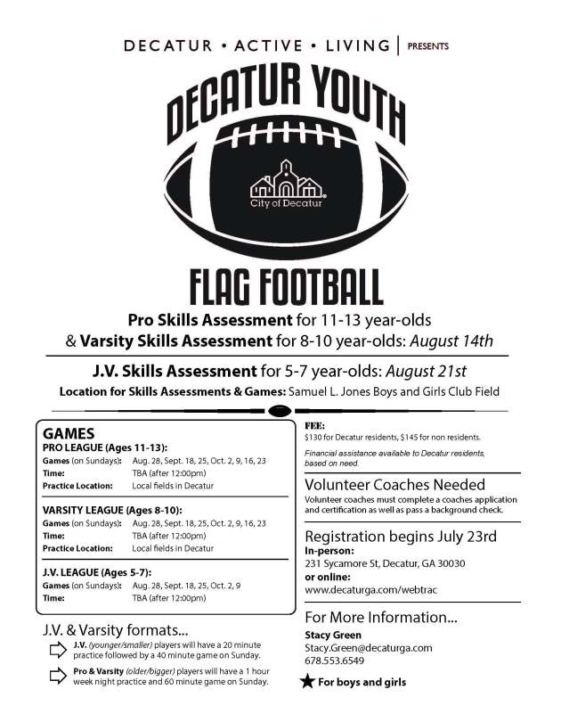 DecaturFlagFootballFlyer2016