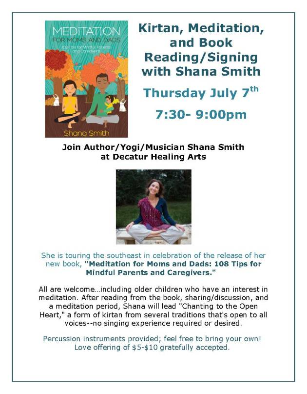 July 7th - Shana Smith - Book Signing