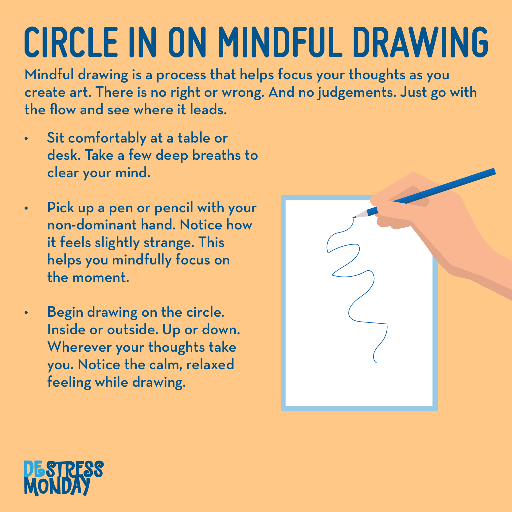mindful drawing