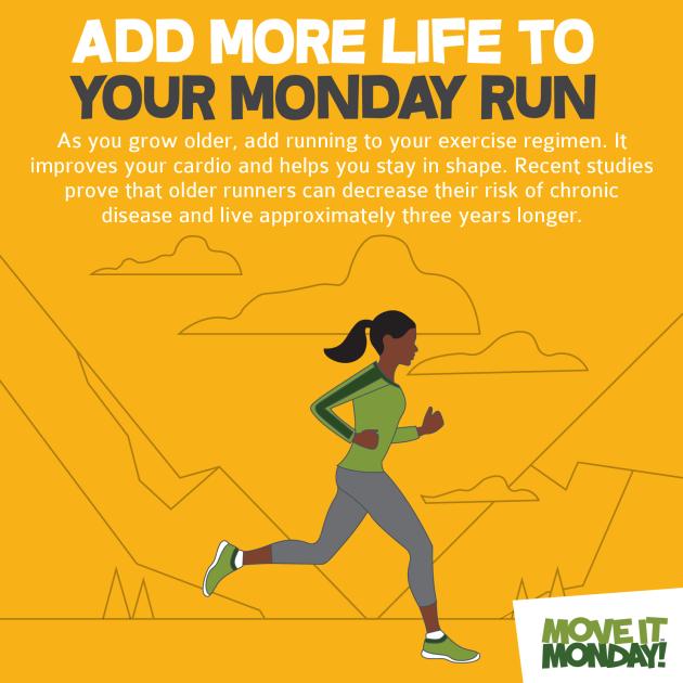 Monday run
