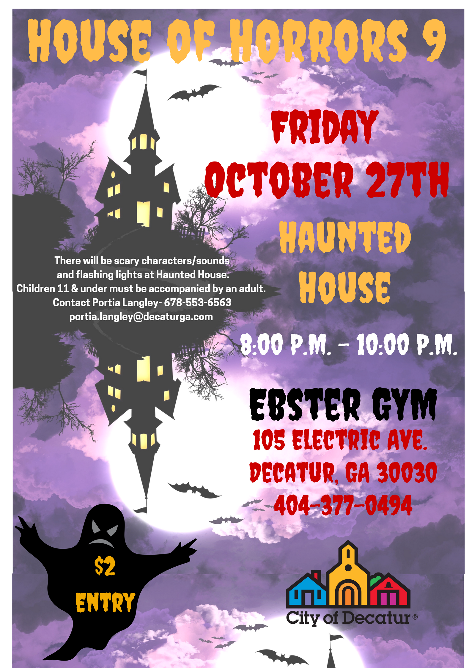 Haunted House 2017 Flyer