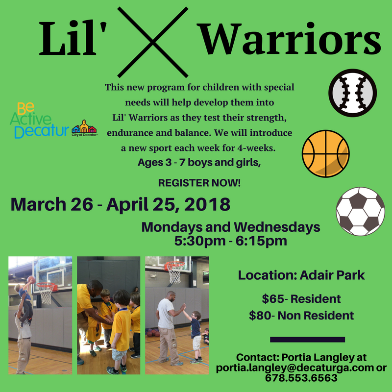 Copy of lil warriors
