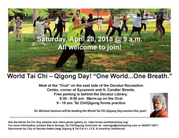 World Tai Chi-QiGong Flyer 2018