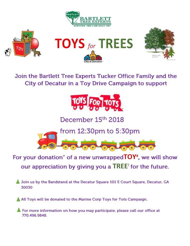 Toys for Trees Flyer 2018