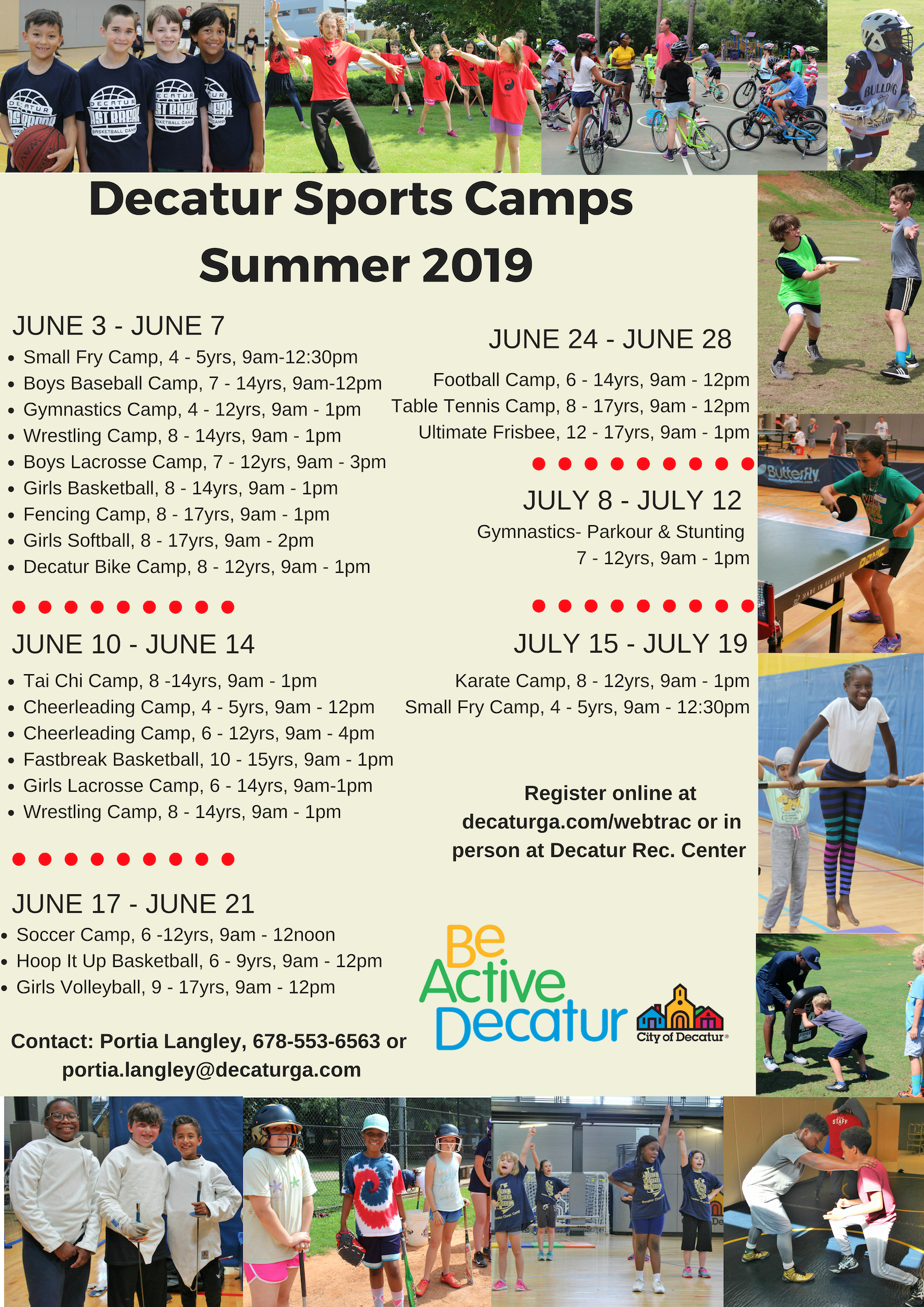 Decatur Summer Sports Camps