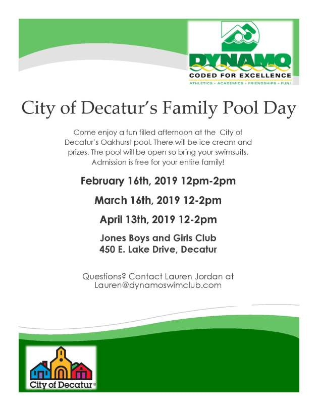 Family Day- 2019 Dates