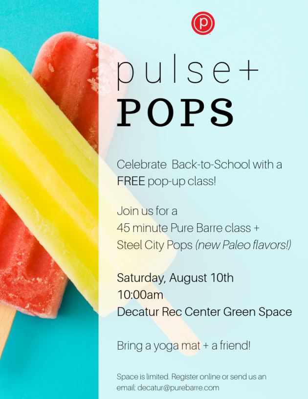 PB Decatur pop up