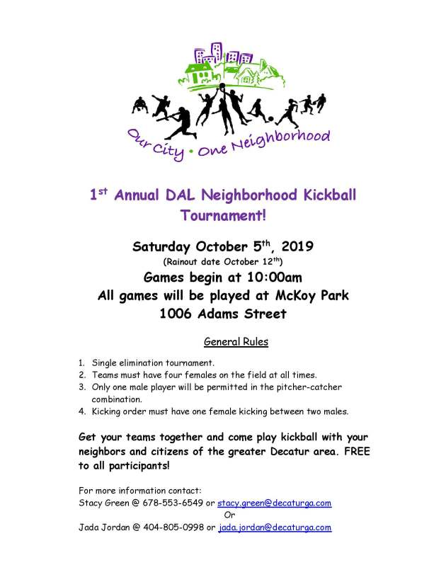 DAL Neighborhood Kickball Tourn Flyer