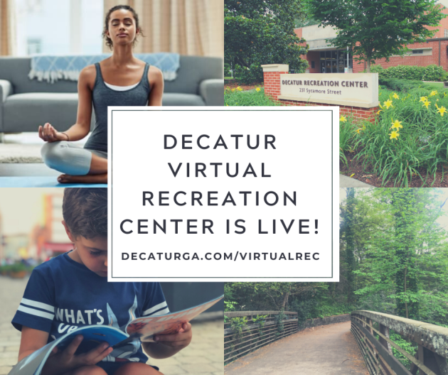 Decatur Virtual Recreation Center is Live!